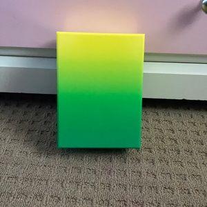 Mini gradient puzzle